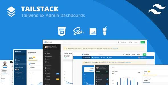Best Tailwind CSS Admin Dashboard Template