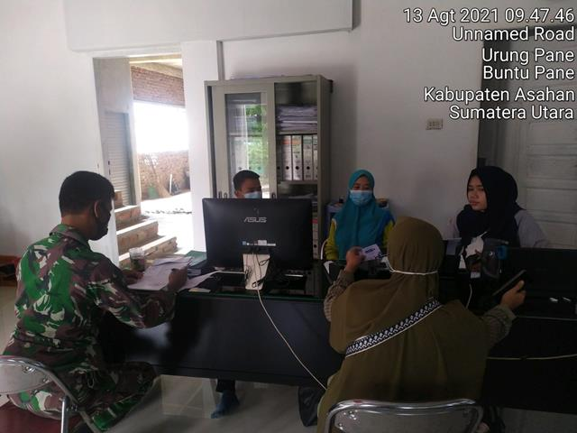 Perbaharui Data Wilayah, Personel Jajaran Kodim 0208/Asahan Laksanakan Pul Data Ter Diwilayah Binaan