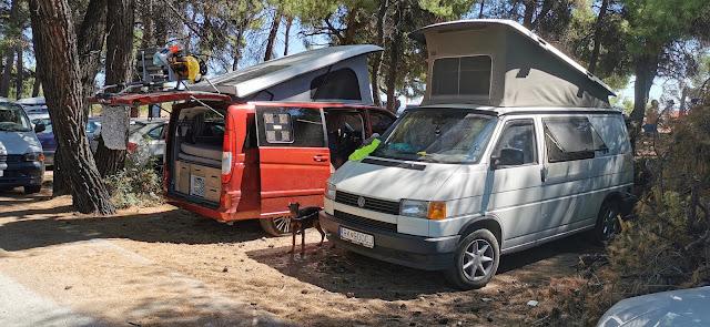 Camping in freier Wildbahn
