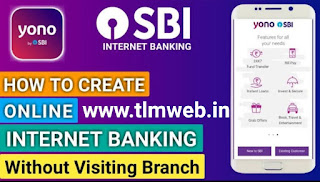 Create SBI Net Banking Yourself with YONO SBI Mobile Banking  App - Know Here.