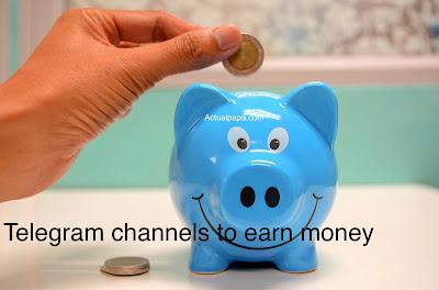 Telegram channels to earn money