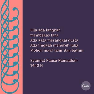 kata kata mohon maaf menyambut bulan ramadhan