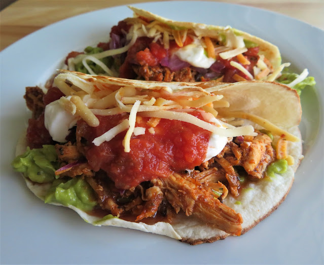 Chicken Tinga Tacos for Two
