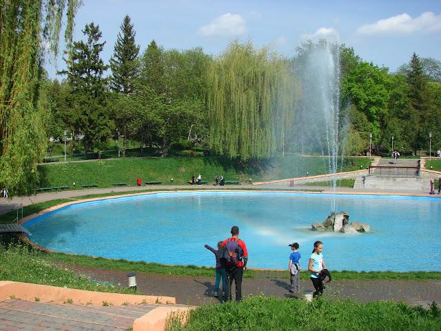 Пруд в парке