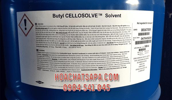 Dung môi Butyl Cellosolve BCS chậm khô sơn, chống mốc