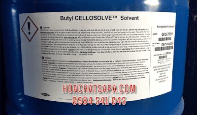 Dung môi Butyl Cellosolve BCS có tác dụng làm chậm khô sơn, chống mốc