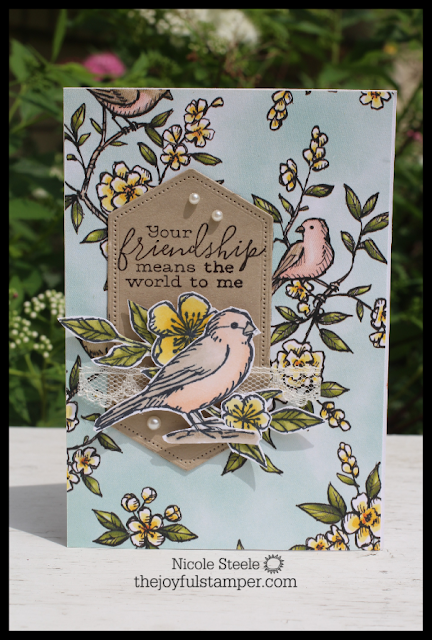 Bird Ballad Notecard set by Nicole Steele, The Joyful Stamper