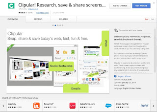 Clipular Research Save & Share Screenshot