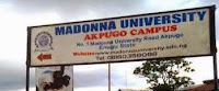 Madonna University Admission 2016/2017  Post UTME form, Screening is ongoing