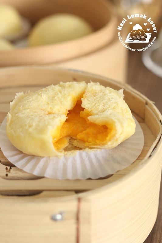 Nasi Lemak Lover Liu Sha Bao Salted Egg Yolk Custard Bun