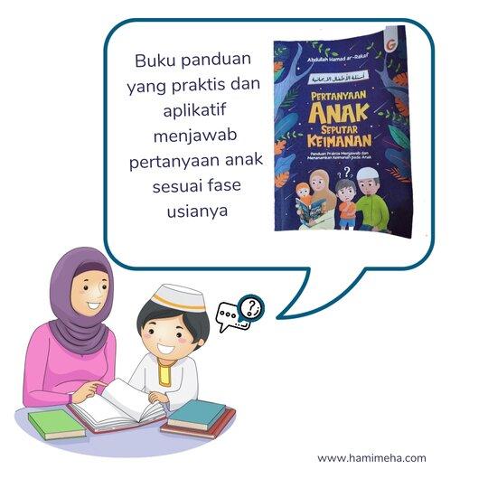 Buku pertanyaan anak seputar keimanan