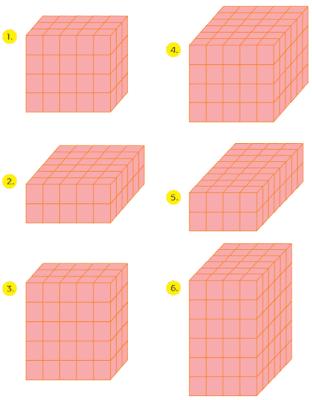 Tentukan volume balok di bawah ini dalam kubus satuan! www.simplenews.me