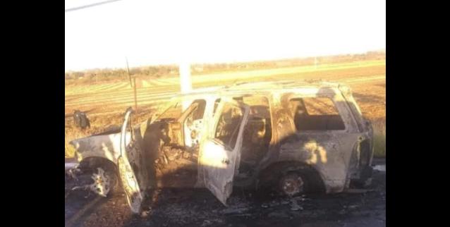 Perico, Sinaloa es Zona de guerra amanece con vehículos incendiados , explosione sy cientos de casquillos percutidos tras guerra entre Cártel de Sinaloa
