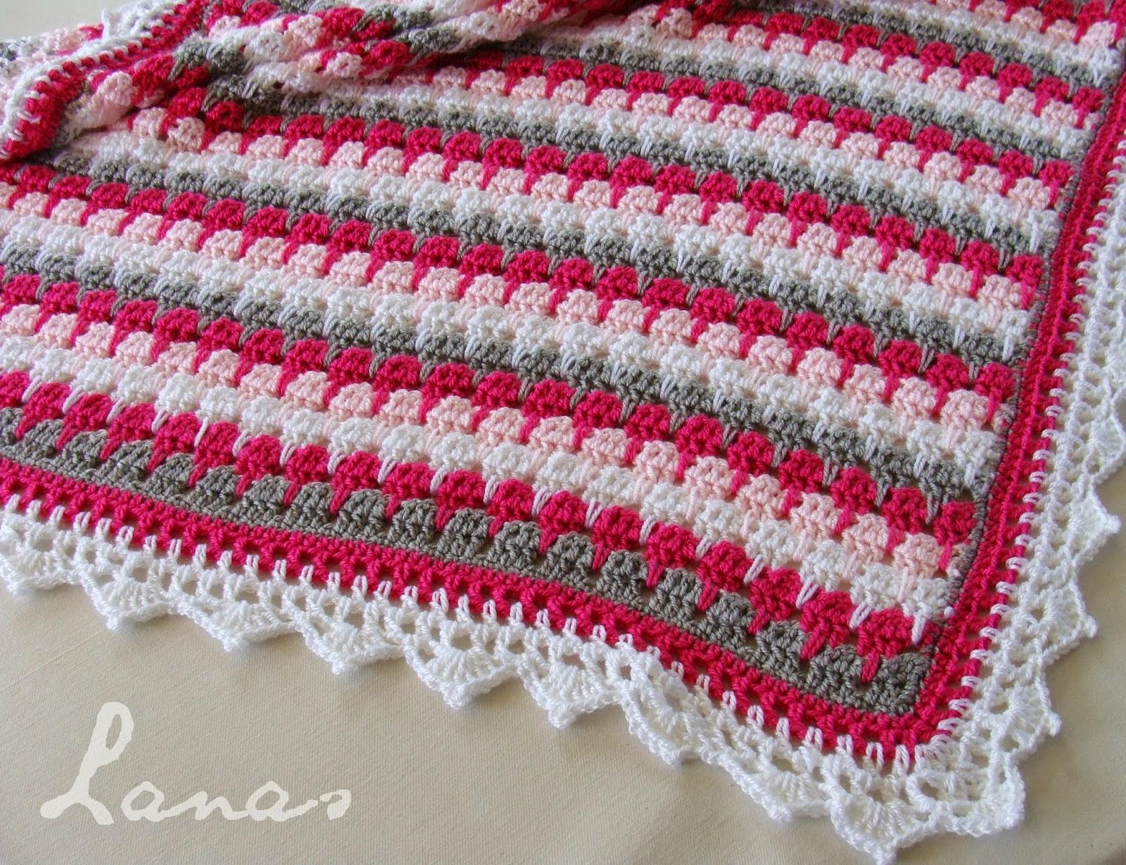 La magia del crochet mantas patrones gratis - Mantas de punto hechas a mano ...