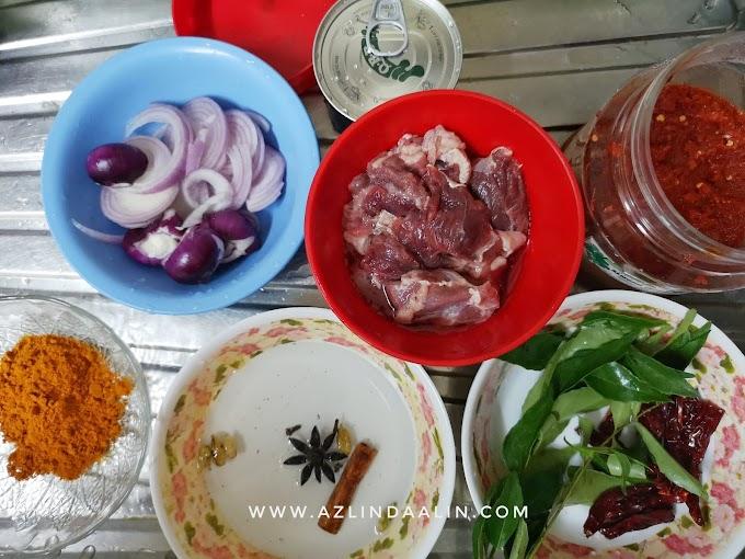 Daging Masak Sapi Resepi Dato Rizalman
