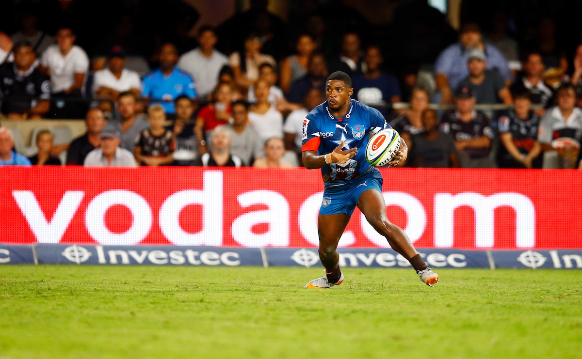 Warrick Gelant of the Vodacom Bulls