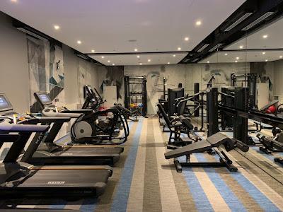 A 24-hour fitness centre