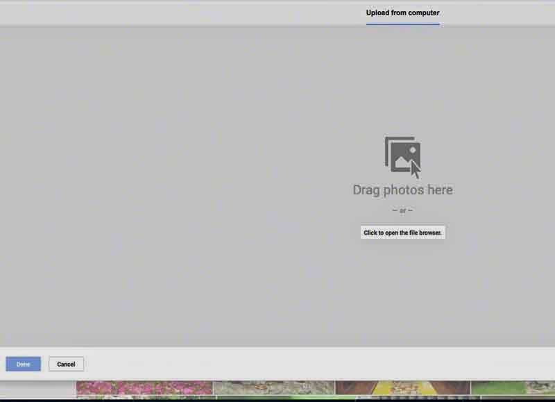 upload photos,screenshot,how-to