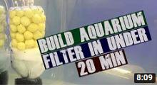 DIY Aquarium Filter under 20 minutes