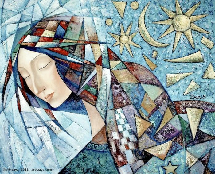 Монгольский художник. Заясайхан Самбуу 22