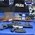 Incautan tres armas de fuego y 429 municiones en allanamientos en el Cerrito de la Victoria