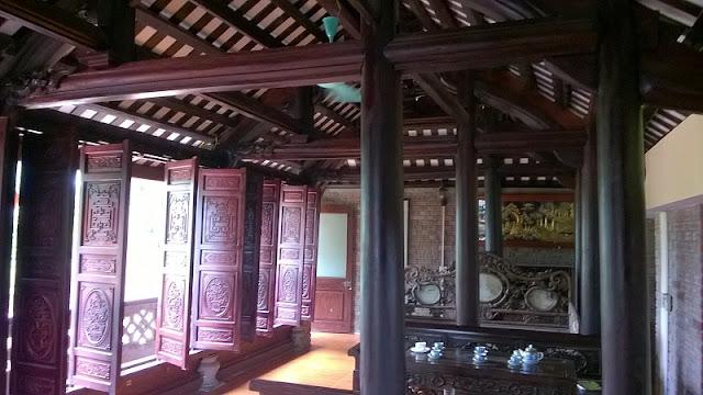 thiết kế nhà gỗ 5 gian
