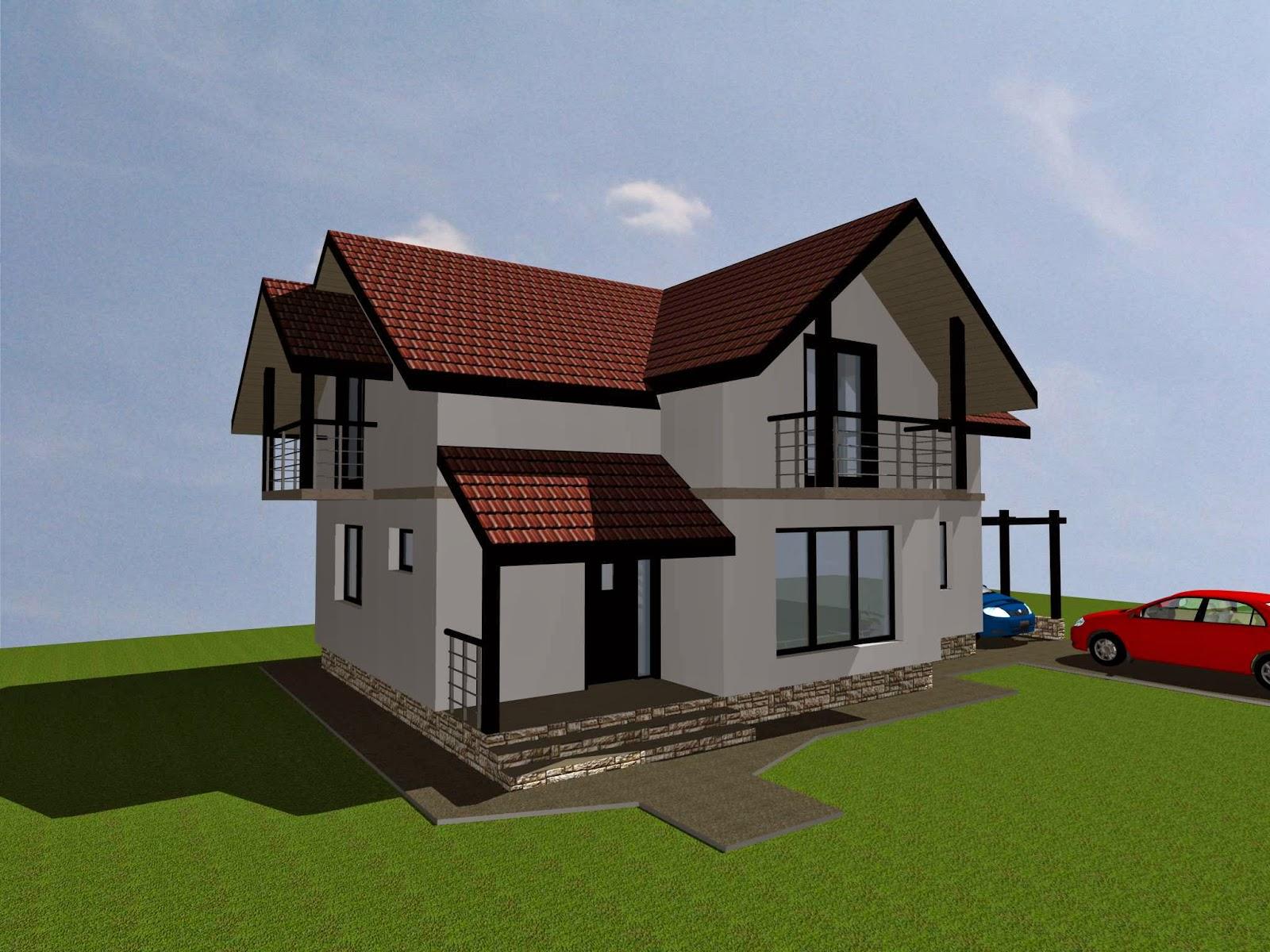 Proiecte constructii for Proiecte case cu garaj si mansarda