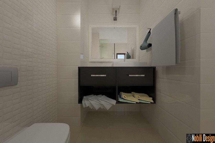 Proiect design interior apartament pensiunea Lorena Constanta - Amenajari Interioare