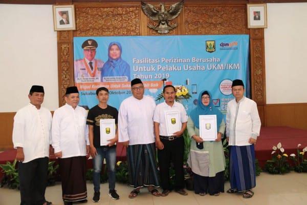 Bupati Sukabumi ; UMKM/KIM Berperan penting Dalam Pertumbuhan Investasi