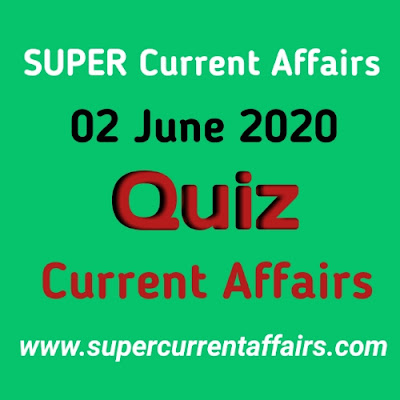 2 June 2020 Current Affairs Quiz in Hindi