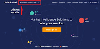 SimilarWeb- check/check the most famous free online website traffic today