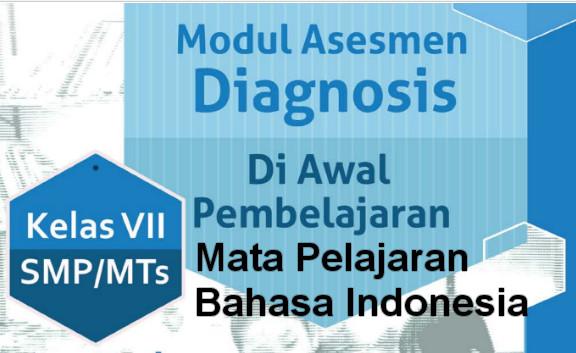 Buku Modul Asesmen Diagnosis Bahasa-Indonesia SMP Kelas 7