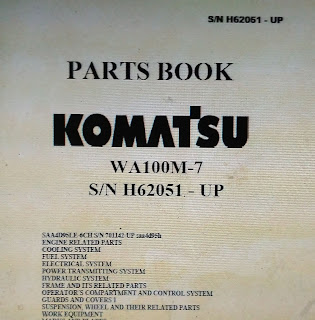 Download Part Book WA100M-7