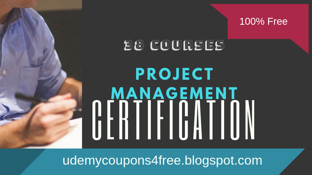 Project Management certification   udemy coupons   100% free direct