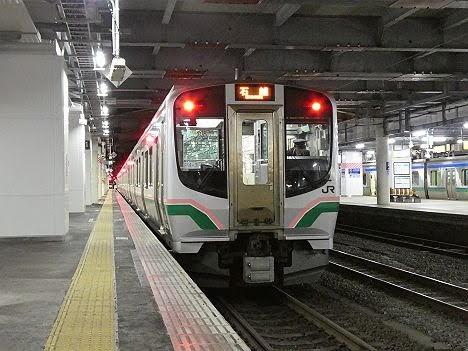 東北本線 石越行き1 701系