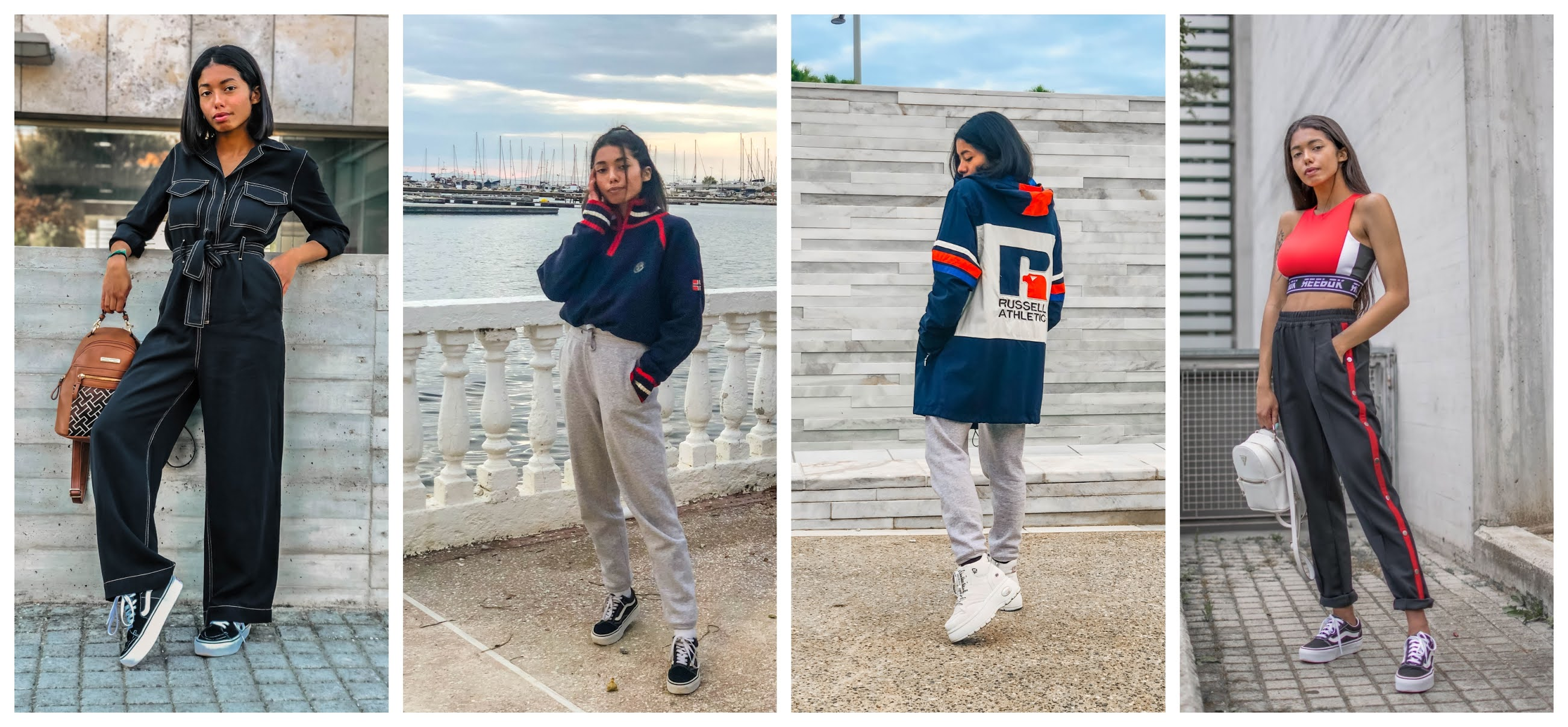 Streetstyle athleisure outfit inspiration