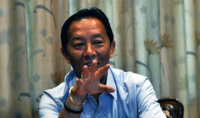 Binay Tamang GTA BOA Chief