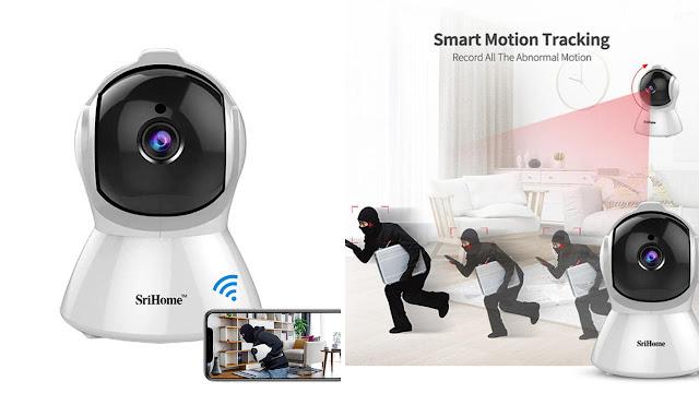 SriHome SH-25 Wifi CCTV