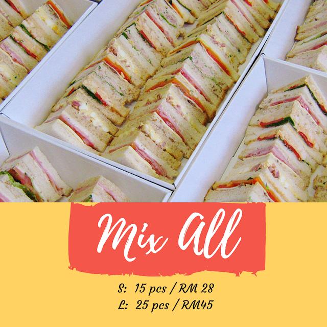 Ashrin Food Pembekal Dan Menghantar Sandwich Di Sekitar Kuala Lumpur