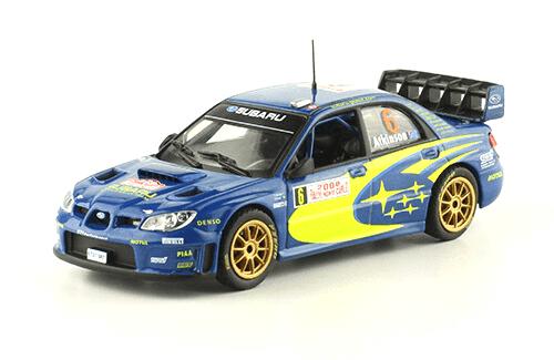 collezione rally monte carlo Subaru Impreza S12B WRC 07 2008 Chris Atkinson - Stéphane Prévot