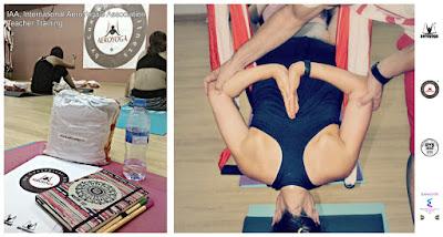 Hamaca Columpio Yoga Hamac AeroYoga® AeroPilates® Yoga Swing, Pilates Columpio, pilates aerien, aerial pilates, airpilates