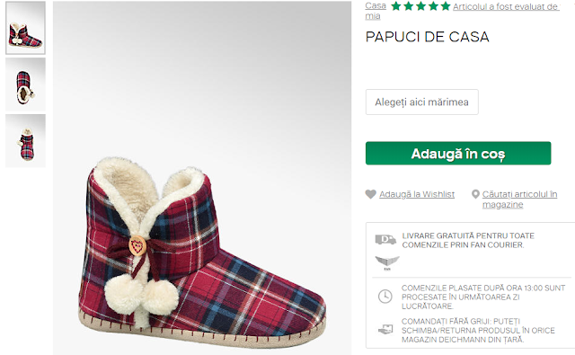 Încălțăminte și îmbrăcăminte cu livrare gratuită: Idei de cadouri de Cristina G.