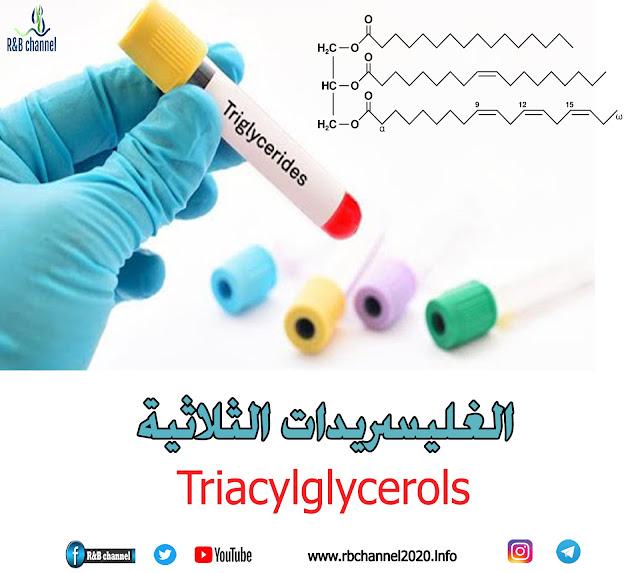 المواد الدسمة | الغليسريدات الثلاثية Triacylglycerols