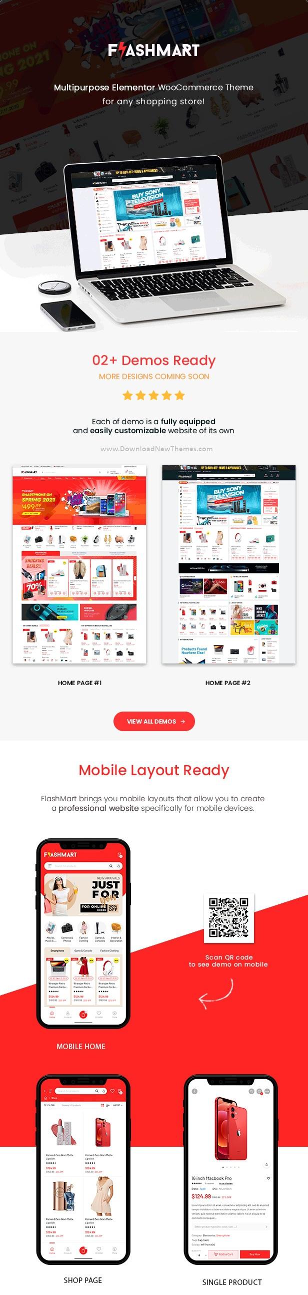 Best Multipurpose Elementor WooCommerce WordPress Theme