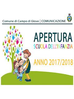 """La scuola dell'Infanzia e Primaria di Campo di Giove """"F. Di Paolo"""" sarà regolarmente sede di lezioni e didattica anche per l'anno scolastico 2017/2018"""