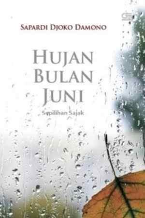Novel Hujan Bulan Juni Karya Sapardi Djoko Damono PDF