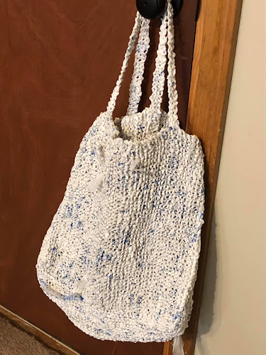 Plarn Projects Reusable Grocery Bag