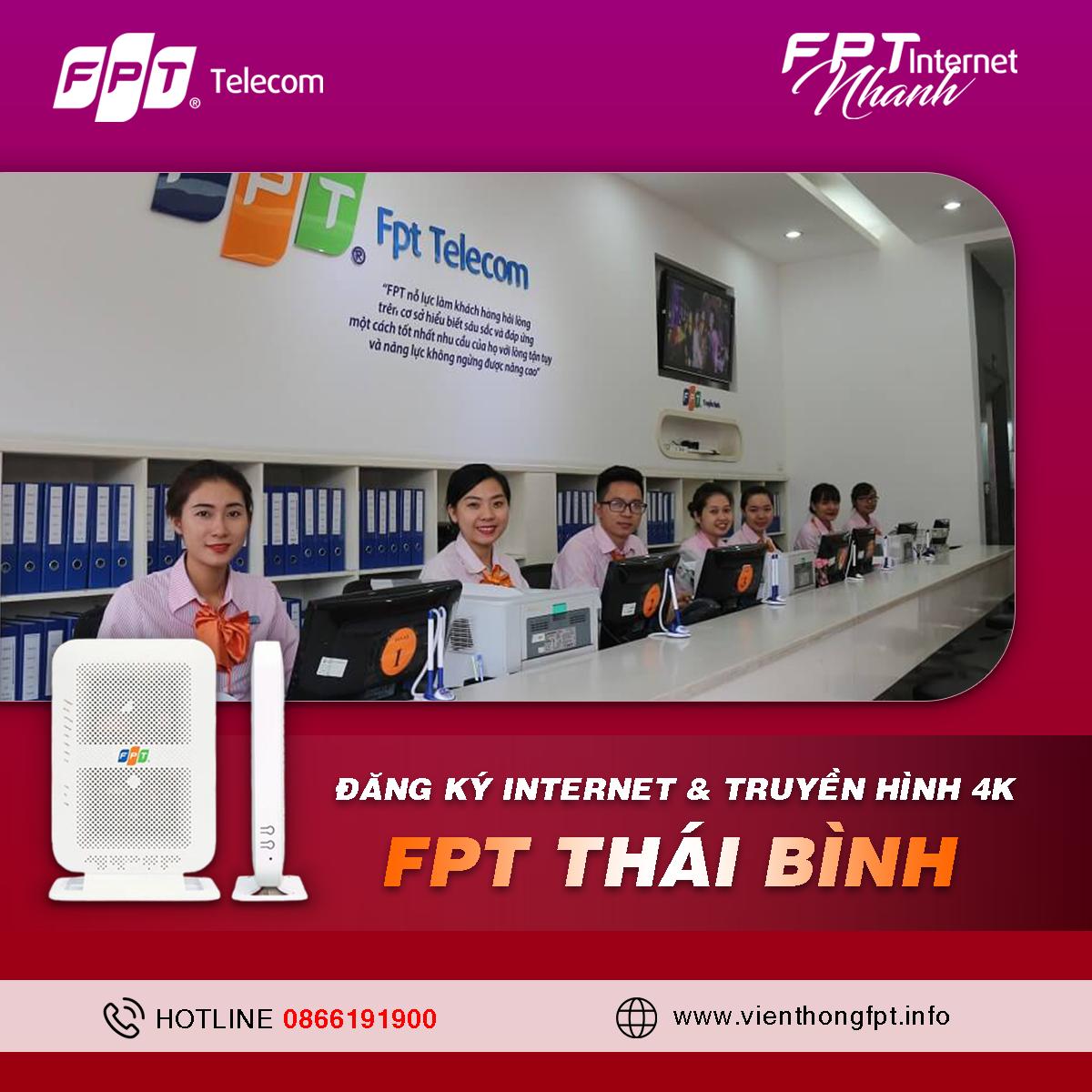 Tổng đài Đăng ký Internet FPT Thái Bình