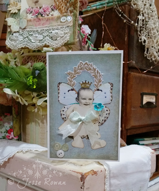Hand made baby card