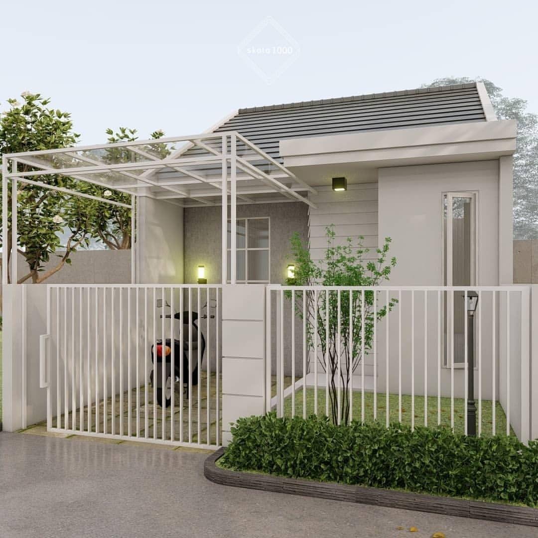 Desain Taman Tangga Rumah Minimalis Type 36 Cek Bahan Bangunan